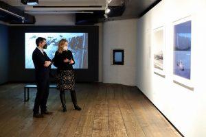 Klimastadtradt Jürgen @czernohorszky der @stadtwien zu Besuch in den Ausstellungen