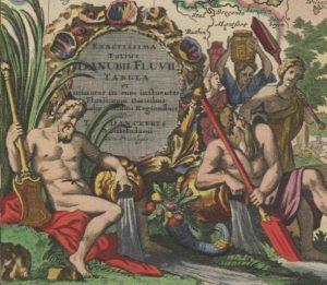 Der Flussgott Danubius war im 17. Jahrhundert ein beliebter Gast auf extravagant gestalteten ...