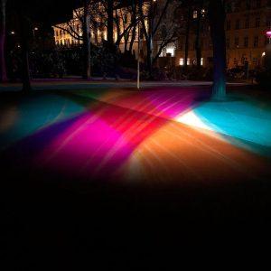 """Wiener Lichtblicke # 3/2 BLM [Cheibani Wague] Stadtpark/Reisnerstaße * Victoria Coeln: """"Viennas Rays ..."""