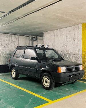 My favorite car at the moment. @fiat Panda 4x4