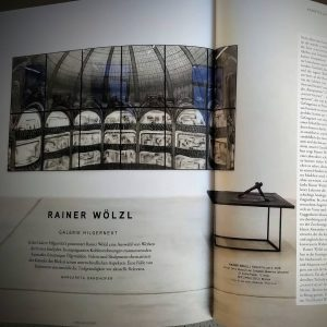 Our exhibition Rainer Wölzl 'Panoptikum' is featured in the current edition of #parnass Kunstmagazin. Thank you! Take...