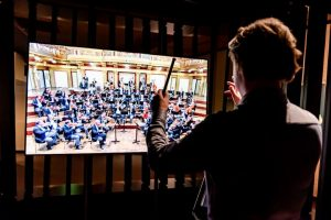 """The Virtual Conductor - Conduct the @viennaphilharmonic orchestra! Try your luck with the """"Danube Waltz"""", """"Annen-Polka"""", """"Eine..."""