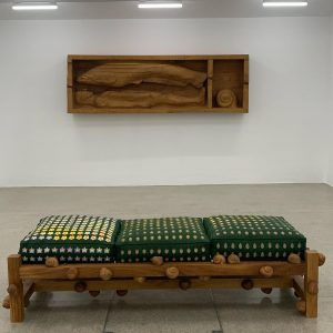 Secession currently shows international exhibitions! Currenty in the galleries downstairs #danieldewargrégorygicquel