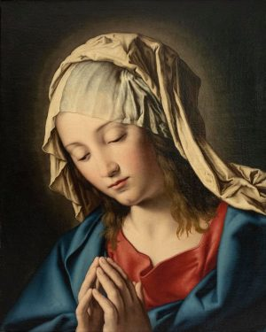'Praying Mother of God', Giovanni Battista Salvi, called 'Il Sassoferrato' The present #painting will be sold in...