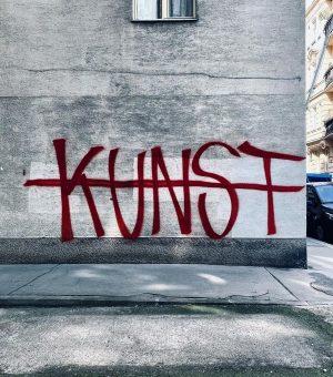 27.3.2021 Never not art. - #livewithart #artlover #streetsofvienna #vienna