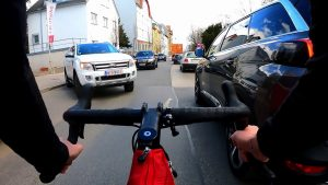 Vienna Downhill and some traffic [Gravel Bike Cube Nuroad C62 Pro]