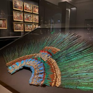 Currently (if Corona allows it) a wonderful exhibition 🤩 on the Aztecs is running in the Weltmuseum...