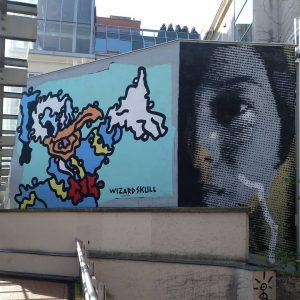 Había monita cousa bonita en Viena #donaldduck #vienna #viennagraffiti #arteurbano #urbanart #graffiti #grafiti ...