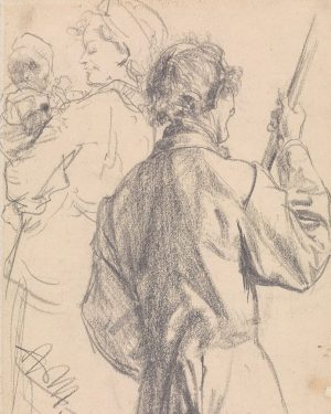 Adolph von Menzel. Master Drawings, Prints before 1900, Watercolours, Miniatures, 22 April. Between 1872 and 1874 and...