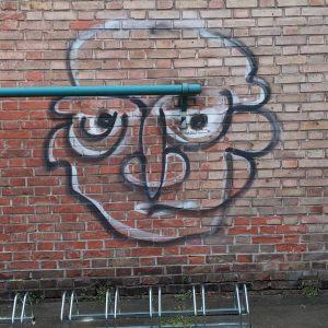 Klopfstange vor dem Kopf #smileys #emoticons #iseefaces #doyouseefaces #iseefacestoo #facogram #thingswithfaces #windowfaces #pareidolie #pareidolia #wien #vienna #wienliebe...