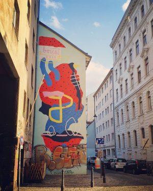--- * artist: @boicut * spot: 7., Zeltgasse #colorful #geometricshapes #geometricart #sunnydays #goodmood ...