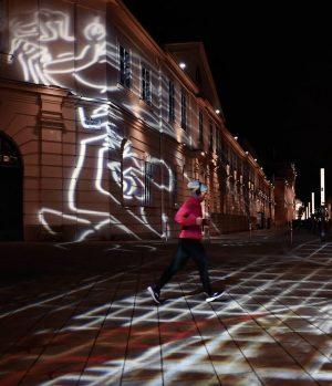 Lightrun... ___________ #museumsquartier #mq #wienneubau #stadtwien #visitvienna #vienna_austria #viennastreets #viennalove #viennanights #running #mariahilferstraße ...
