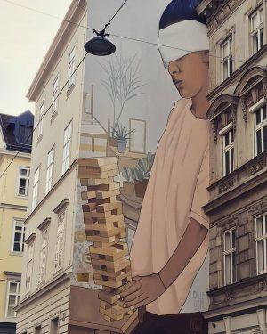 Citywalks in Vienna #artwalk #citywalls #artmode #vienna #artisallaround #artlover #beautyisallaround