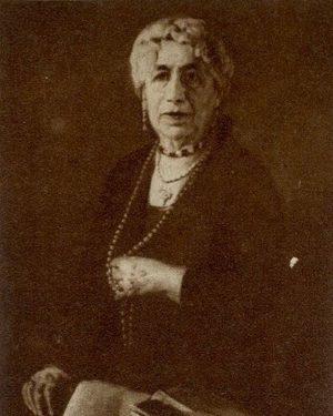 Sophie Grünfeld (1856–1946), unsere #AriadneFrauDesMonats, war Philanthropin und Wohltäterin mit großem Herz für ...