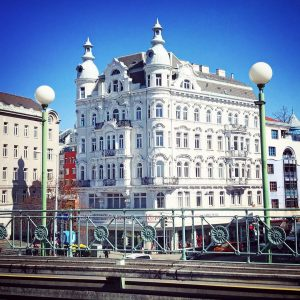 one of my all time favorite buildings in Vienna - seen from the ...