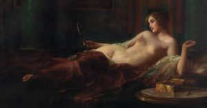 'The Jewellery Box' Eduard Ansen-Hofmann. There are different techniques for oil painting. If ...