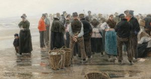 'Fishermen's Assembly', Leopold von Kalckreuth the Younger. Did you know that the first ...