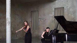 Adela Liculescu, Piano & Ioana Cristina Goicea, Violin @ REAKTOR Vienna