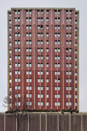 ibis Hotel Wien Mariahilf by Robert Kanfer, built 1984. Vienna, Austria . . ...