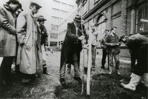 Ein Wald im Museumsquartier? 🌳Joseph Beuys, der heute 100 Jahre alt geworden wäre, ...