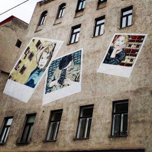 --- * artist: @janaundjs * spot: 06., Gumpendorfer Straße 122 #polaroid #polaroidphotography #polaroidcamera ...