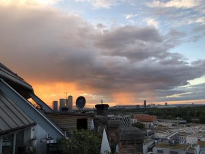 #vienna #sunset #clouds #dramatic #atmosphere
