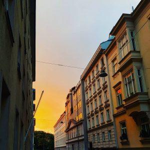 #dusk #sunset #sky