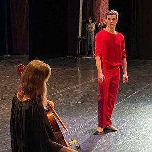 Premiere #suiteofdances #bach #cellosuites Wiener Staatsoper