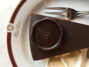 This was a good cake day - with 60 candles #sacher #cake #birthday ...