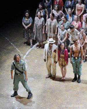 Peter Kellner - @peterkellnerpk - als Zuniga in Carmen, am 26.5.2021 in der Premiere vor Publikum. Seit...