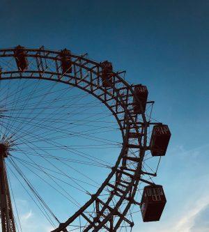 #vienna #wien #prater #austria #österreich #travel #travelphotography #riesenrad Wiener Prater