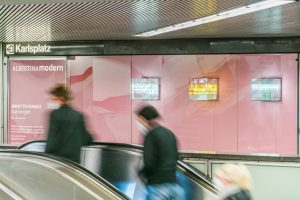 When passing by the Red Carpet Showroom at the subway-station Karlsplatz in Vienna ...