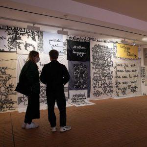 Do you recognize our entrance area? @babibadalov´s poetic installation has taken over the ...