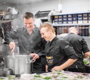 Experience rhythm and pace of a gourmet kitchen up close with 2 star chef Silvio Nickol✨