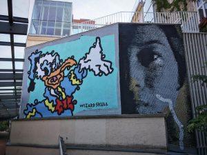Tada, la femme #mural#muralart #comic #dotwork #donaldduck #woman #duck #ente #frau #mq #museumsquartier ...