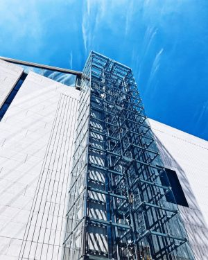 """Elevator to the """"Firefly"""". The new highlight of the MQ is a rooftop ..."""