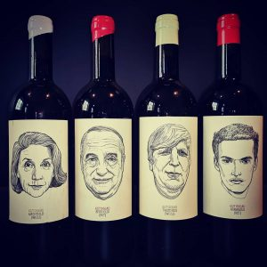 The wines from our dear friends at Gut Oggau have their own personality ...