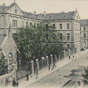 Heute ist das Krankenhaus im dritten Bezirk als Klink Landstraße bekannt, doch gegründet ...
