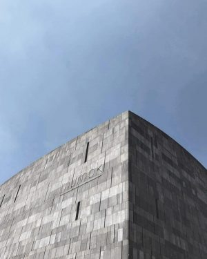 Modern and weird. Top location for contemporary art lovers. The building itself is ...