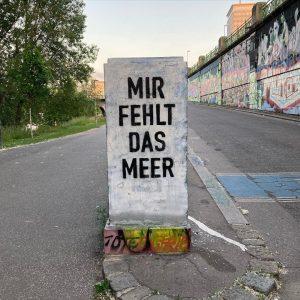 Word! Hoffentlich nicht mehr für lang. #graffiti #graffitiart #streetart #sehnsucht #summerstage #donaukanal #vienna ...