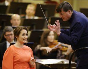 😍 Rückblick: Erin Morley mit der Staatskapelle Dresden und Maestro Christian Thielemann. 🎶 📸 #repost @morleysoprano #wirspielenwieder...