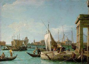 Wien Memories. La Punta Della Dogana (1730). Canaletto (1697-1768). #wien #vienna #viena #kunsthistorischesmuseumvienna #lapuntadelladogana #diedoganainvenedig #painting #oiloncanvas...