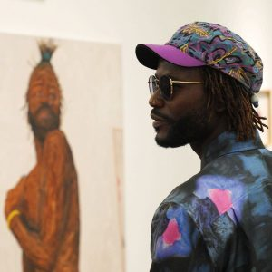 Yesterday, @amoakoboafo visited our exhibition
