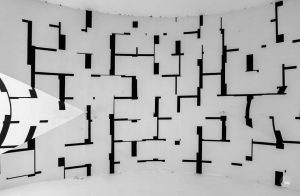 Tonspurpassage • MuseumsQuartier • Vienna, Austria. #architecture #architecturephotography #art #mural #museumsquartier #museumsquartietwien #passage #passageway #tonspur #tonspurpassage #lookingup...