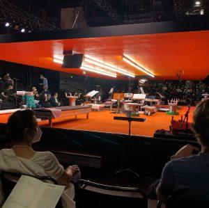 nice stage and great piece 👍💥 #wienerfestwochen #pierrotlunaire #marlenemonteirofreitas @sofiajernberg @imetzmacher @klangforum_wien 💥bam