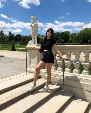 #austria #vienna #travel #summertime #beauty #followme Belvedere Gardens, Vienna