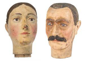 Spurensuche #1 – Köpfe von Trachtenfigurinen In den Museumsdepots lagern viele Dinge, die keine Inventarnummer haben und...