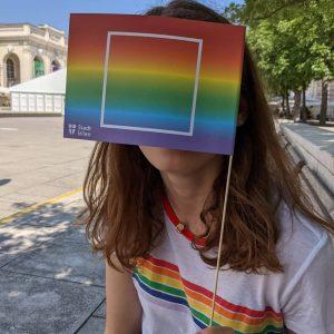 Hello, it's me 🌈 #pride MQ – MuseumsQuartier Wien