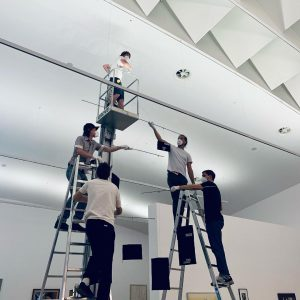 Once again installing 'boulevard' (2019) @mumok_vienna On view from June 19, 2021 #exhibition ...