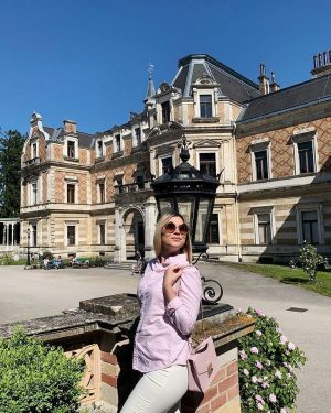 #HermesVilla - a Viennese palace that you shouldn't miss 💗 The entrance to ...